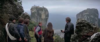 Roger Moore ready for climbing up to St. Cyril's Monastery in For Your Eyes  Only-James Bond movie filmed in Meteora. | Meteora, Places in greece,  Sacred places
